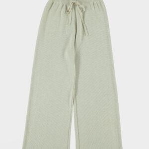 Lange broek gebreid