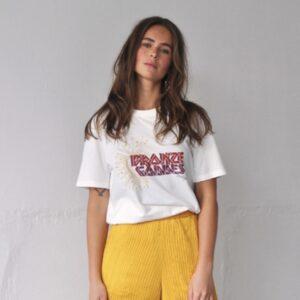 Harper & Yve t-shirt bronze goddess