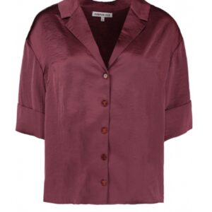 Harper & Yve blouse Hayli ss plum