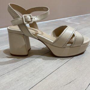 Elvio Zanon sandaal wit