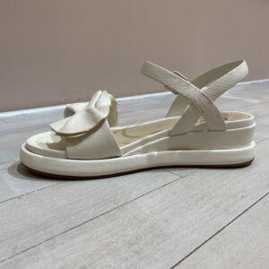 Elvio Zanon sandaal Off-white