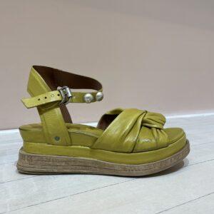 AS98 sandaal limegroen