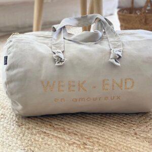 Bag Week-end ecru