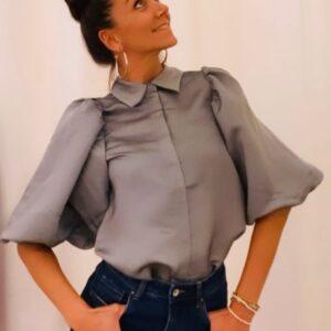 Copenhagen Muse blouse grijs