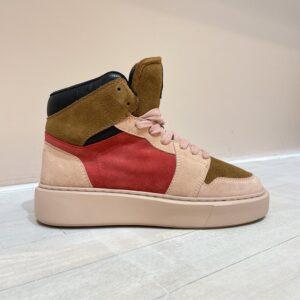Elvio Zanon sneakers roze/camel